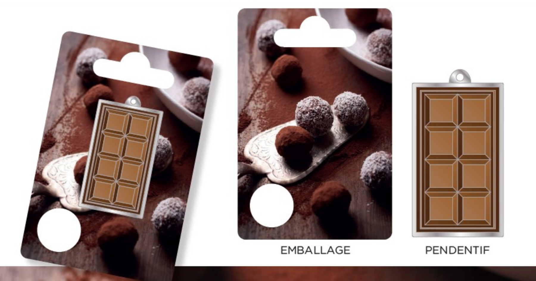 Chocolate bar shape gift with personalized packaging